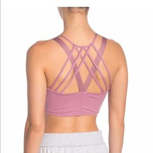 Free People Mantra Strappy back crop top